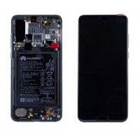 Huawei P20 Pro 02351WTP (CLT-L09/ CLT-L29) OEM Service Part Screen Incl. Battery - Midnight Blue