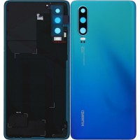 Huawei P30 (ELE-L29) Battery Cover - Aurora Blue