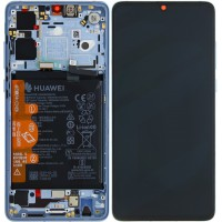 Huawei P30 OEM Service Part Screen Incl. Battery (02352NLP) - Breathing Crystal