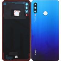 Huawei P30 Lite (MAR-LX1M) Battery Cover (48MP) - Peacock Blue