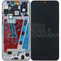 Huawei P30 Lite (MAR-LX1M) Display + Digitizer + Frame - Pearl White