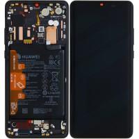 Huawei P30 Pro OEM Service Part Screen Incl. Battery (02352PBT) - Black