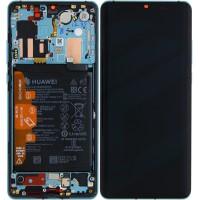 Huawei P30 Pro OEM Service Part Screen Incl. Battery (02352PGE) - Aurora Blue