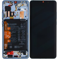 Huawei P30 Pro OEM Service Part Screen Incl. Battery (02352PGH) - Breathing Crystal