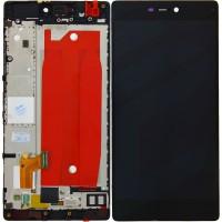 Huawei P8 (GRA-L09) Display Incl Touchscreen + Frame - Black
