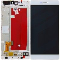 Huawei P8 (GRA-L09) Display Incl Touchscreen + Frame - White