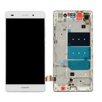 Huawei P8 Lite (ALE-21) LCD+Touchscreen+Frame - White