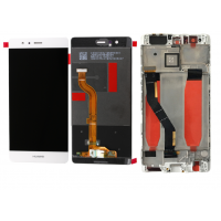 Huawei P9 (EVA-L09/ EVA-L19) LCD+Touchscreen+Frame - White