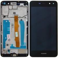 Huawei Y5 2017 (MYA-L22) LCD + Touchscreen + Frame - Black