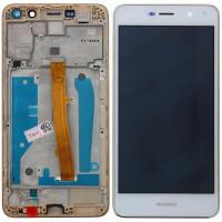 Huawei Y5 2017 (MYA-L22) LCD + Touchscreen + Frame - White