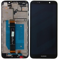 Huawei Y5 2018 (DRA-L22) LCD+Touchscreen + Frame - Black