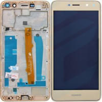 Huawei Y6 2017 (MYA-L11) Display + Touchscreen Module + Frame - Gold