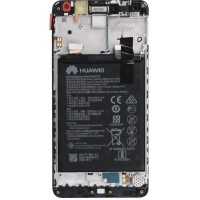 Huawei Y7 (TRT-L21) OEM Service Part Screen Inc Battery - Black