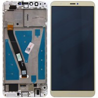 Huawei Y9-2018 Display + Digitizer + Frame - Gold