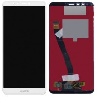 Huawei Y9-2018 Display + Digitizer - White