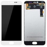 General Mobile GM6 Display + Touchscreen - White