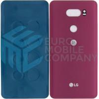 LG V30 (H930) Battery Cover - Raspberry Rose