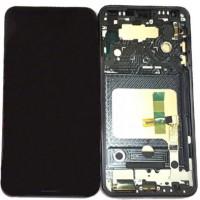 LG V30 Display + Touchscreen incl Frame - Black