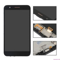 LG K10 2017 (M250N) Digitizer + Display  With Frame - Black