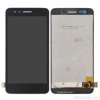 LG K4 2017 (M160E) LCD+Touchscreen + Frame - Black