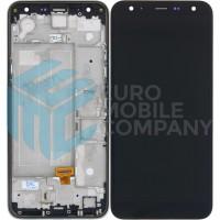 LG K40 LCD + Digitizer Complete With Frame - Black