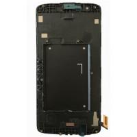 LG K8 (K350N) LCD+Touchscreen+Frame - Black