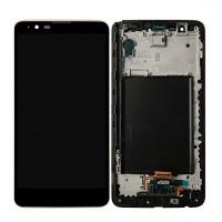 LG Stylus 2 K520 LCD + Digitizer + Frame - Black