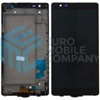 LG X Power (K220n) LCD + Touchscreen + Frame - Black
