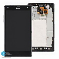 LG Optimus G E975 Display + Digitizer incl. Frame - Black
