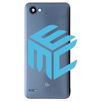 LG Q6 battery Cover - Platinum