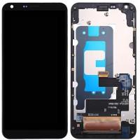 LG Q6 (M700) Display + Touchscreen + Frame - Black