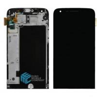 LG G5 Display + Touchscreen + Frame - Black