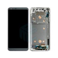 LG G6 Digitizer + Display incl Frame  - Black