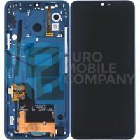 LG G7 Display incl touchscreen + Frame - Blue
