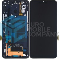 LG G7 ThinQ LCD + Digitizer With Frame - Black