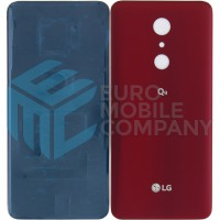 LG Q9 Battery Cover - Red