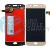 Motorola Moto G5S LCD + Digitizer Complete - Gold
