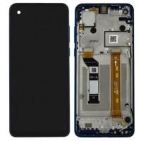Motorola One Action (XT2013)  LCD + Digitizer + Frame - Black