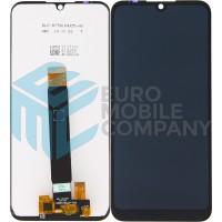 Motorola Moto E6 Plus Display + Digitizer Complete - Black