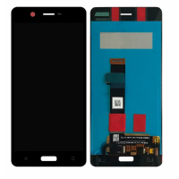 Nokia 5 LCD + Touchscreen Complete Module - Black