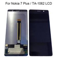 Nokia 7 Plus Display + Digitizer - Black