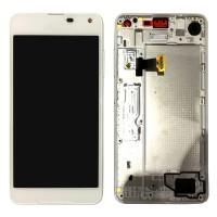 Nokia Lumia 650 Digitizer and Display - White
