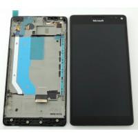 Nokia Lumia 950 XL Display + Frame - Black