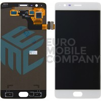 OnePlus 3/3T Display + Digitizer OEM - White