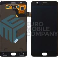 OnePlus 3/3T Display + Touchscreen OEM - Black
