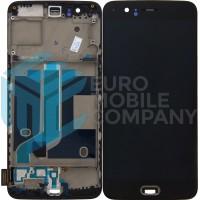 OnePlus 5 Display + Digitizer + Frame OEM - Black