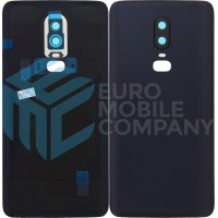 OnePlus 6 Battery Cover - Midnight Black