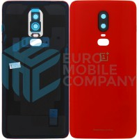 Oneplus 6 Battery Cover - Amber Red