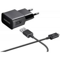 Samsung Charger 2.0mAh (10W) inc. USB Micro Data Cable EP-TA12EBEUGWW - Black
