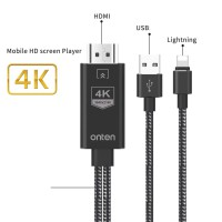 Lightning to HDMI 4K Cable - 1.8M